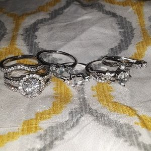 Jewelry - Ring lot. Sizes 8&9!!